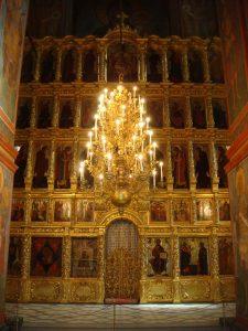 Iconostasis Smolensk cathedral