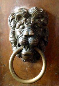 Door handle St Trinity Monastery