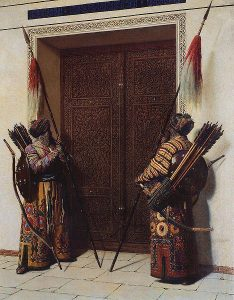 Tamerlan's doors by V. Vereshchagin