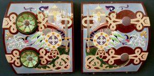 Porcelain decoration wariors