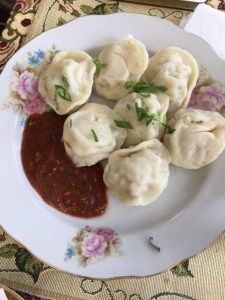 Julia's homemade pelmeni
